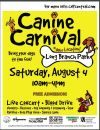The CANINE CARNIVAL is almost here!